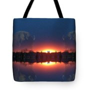Lost World Reflections Tote Bag