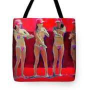 Lotion In Red Tote Bag