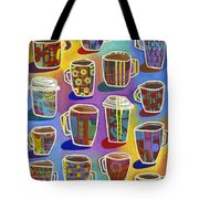 Lots Of Lattes Tote Bag by Carla Bank