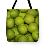 Lots Of Limes Tote Bag