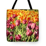 Lots Of Tulips Tote Bag