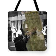 Lottery Man Tote Bag