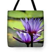 Lotus 5 Tote Bag