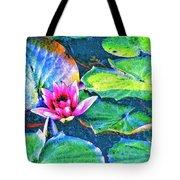 Lotus Blossom Tote Bag