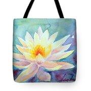 Lotus Awakens Tote Bag