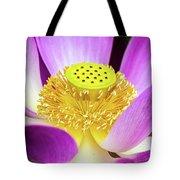 Lotus Central Detailed Tote Bag
