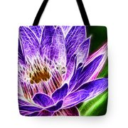 Lotus Close-up Tote Bag