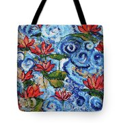 Lotus Cloud Sea 201759 Tote Bag