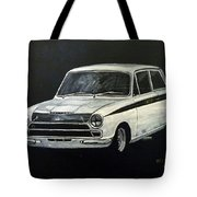 Lotus Cortina Tote Bag