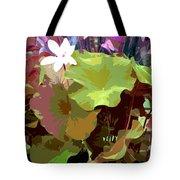 Lotus Design Tote Bag
