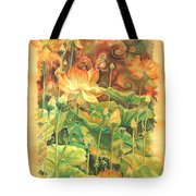 Lotus Field Tote Bag