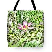 Lotus Flower Bloom In Pink 2 Tote Bag