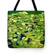 Lotus Flower Born In Water  Tote Bag