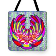 Lotus Flower Stunning Colors Abstract  Artistic Presentation By Navinjoshi Tote Bag