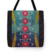 Lotus Garden Tote Bag