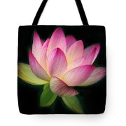 Lotus In The Limelight Tote Bag