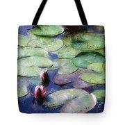 Lotus Lake Tote Bag