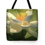 Lotus Light Tote Bag