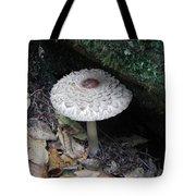 Lotus Mushroom Tote Bag