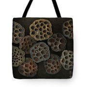 Lotus Pods Tote Bag