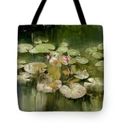 Lotus Pond 1 Tote Bag