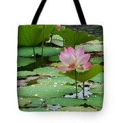 Lotus Pond #3 Tote Bag