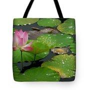 Lotus Pond  Tote Bag