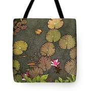 Lotus Pond Tote Bag