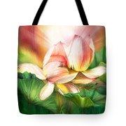 Lotus - Spirit Of Life Tote Bag