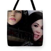 Lou And Tina Tote Bag