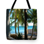 Louie's Backyard Tote Bag by Susanne Van Hulst