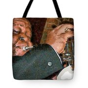 Louis Amstrong Tote Bag