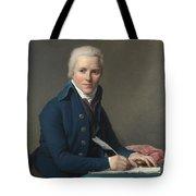 Louis David   Portrait Of Jacobus Blauw Tote Bag