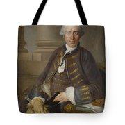 Louis-gabriel Blanchet Paris 1705 - 1772   Portrait Of A Gentleman Tote Bag