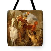 Louis Galloche - A Scene From The Life Of St. Martin Tote Bag