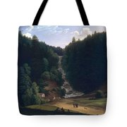 Louis Gauffier  View Of Falls At Vallombrosa Tote Bag