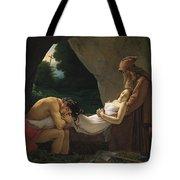 Louis Girodet Tote Bag