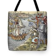 Louis Ix: Disembarking Tote Bag