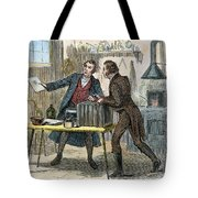 Louis J.m. Daguerre Tote Bag