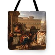 Louis Lafitte - Brutus Listening To The Ambassadors From The Tarquins Tote Bag