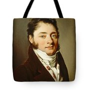 Louis-leopold Boilly - Portrait Of A Gentleman Tote Bag