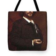 Louis Maurice Boutet De Monvel  Portrait Of Paul Mounet Tote Bag