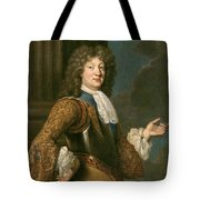 Louis Of France The Grand Dauphin Tote Bag
