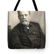 Louis Pasteur (1822-1895) Tote Bag