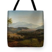 Louis Remy Mignot 1831-1870, Fishkill Mountains Tote Bag
