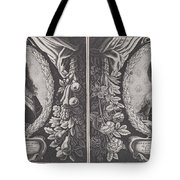Louis Xiii And Anna D'austriche Tote Bag