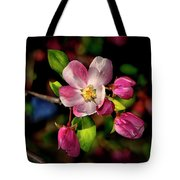 Louisa Apple Blossom 001 Tote Bag