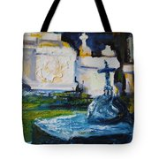 Louisiana Cemetery Tote Bag