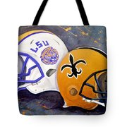 Louisiana Fan Tote Bag