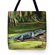 Louisiana Gator Tote Bag
